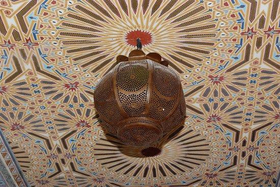 détail décoration de la chambre