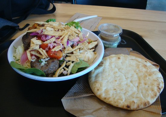 Custom Built Meal with Pita