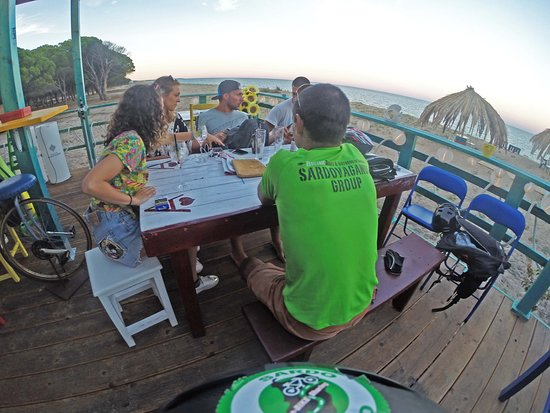 """During one of ours Fat(e)Bike beach tour... Look for """"Aperibike"""" :)"""