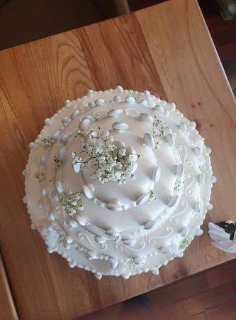 Gâteau de mariage - fraisier