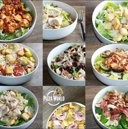 So many salads to choose from