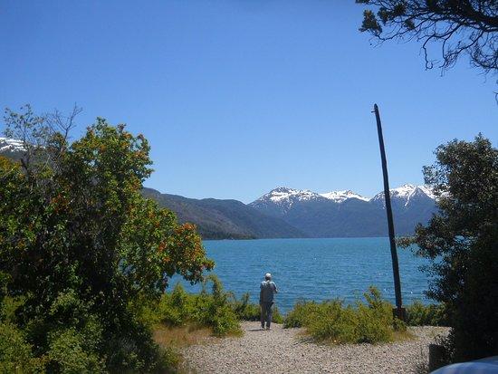 Parque Nacional Los Alerces: Playa en el comienzo