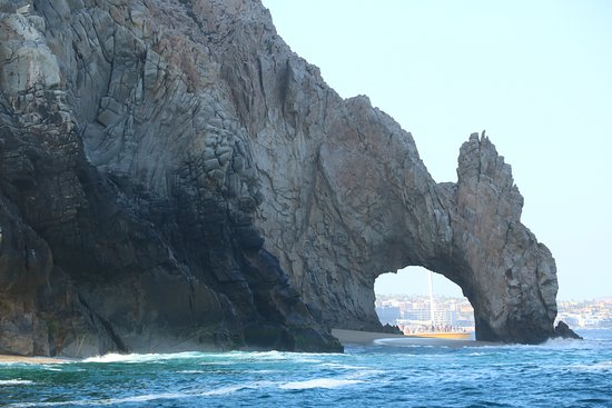 Los Cabos Luxury Sunset Sail: El Arco from the Pacific side.