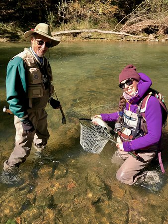 Knapp's Creek Trout Lodge: Lets get you hooked up!
