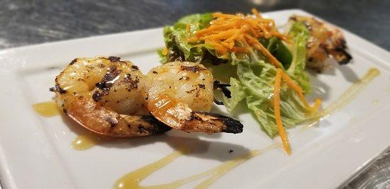 Noodles Italian Cafe & Sushi Bar: Blackened Shrimp