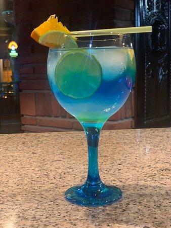 Shenanigans pub: Blue lagoon