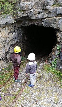 Miniera di Costa Jels visitabile Info http://www.ecomuseominieredigorno.it/cms/orari-e-visite