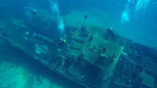 Wreck dive - fishermanfriend