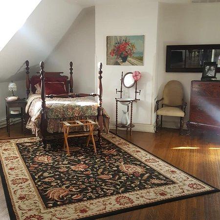 Carol Lombard furniture area, 3rd floor of Mansion