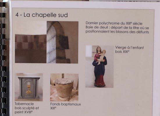 L'eglise Notre-Dame de Lancharre: les choses à voir 