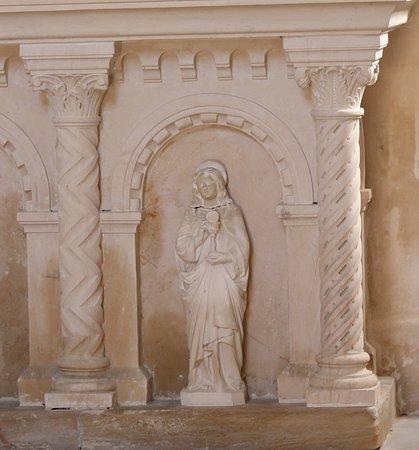 L'eglise Notre-Dame de Lancharre