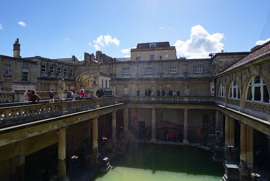 This is where Bath takes its name so you must visit!
