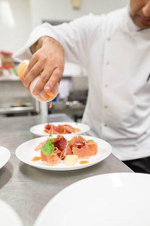 Executive Chef Mridul Dinner Preparation