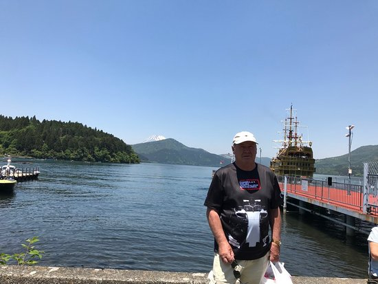 Lake Ashi with Mt Fuji in the background