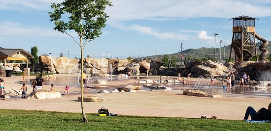 Bluffdale, UT: Wardle park splash pad