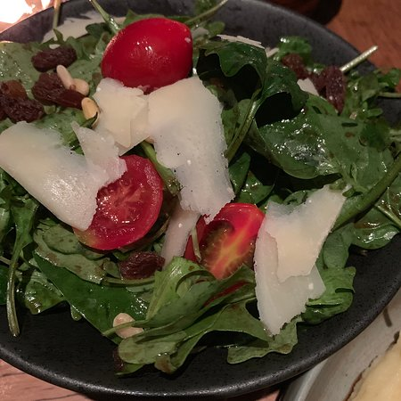 The Optimist: Spinah and Rocket Salad