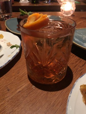 The Optimist: Negroni at Optimist