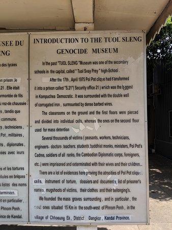 Tuol Sleng Genocide Museum: Prison description