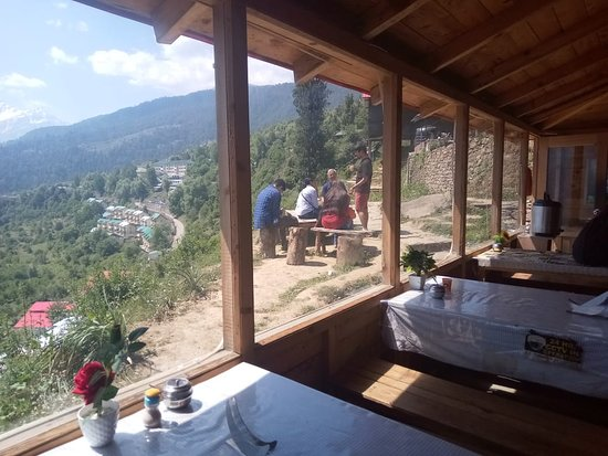 Blue Poppy Resort Auli has best view from the room !