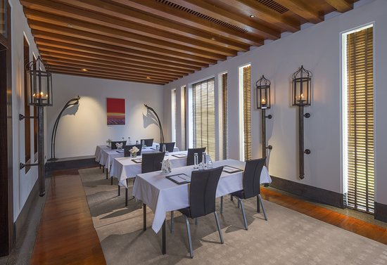 The Chedi Muscat: Meeting room