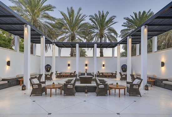 The Chedi Muscat: Exterior