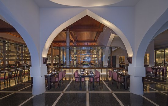 The Chedi Muscat: Restaurant