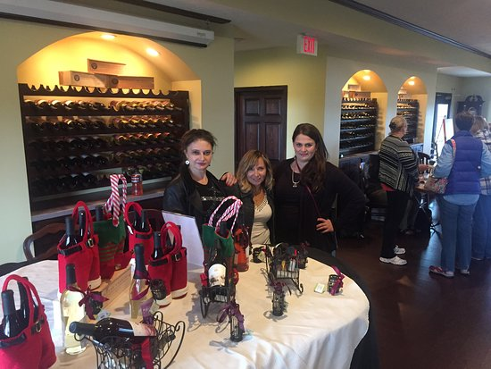 """Chateau Chantal Winery and Inn: Lunch and wine time . """"Wine & friends are a great blend."""" -Ernest Hemingway"""
