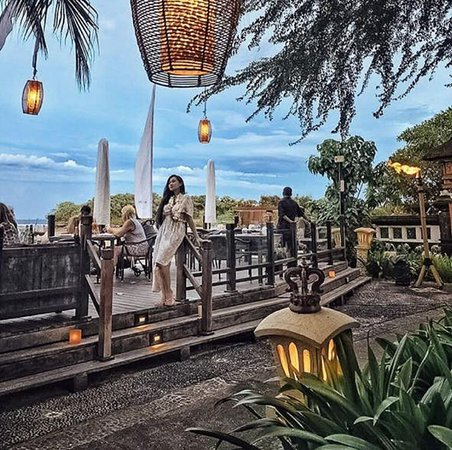 Sateria Beachside Restaurant: Sateria beachview