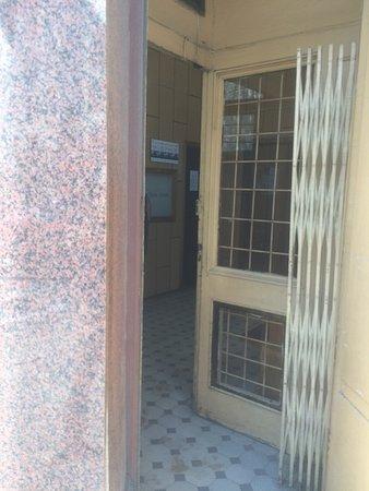 Narrow Entrance Door