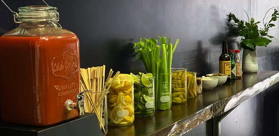 Young & Yonder Spirits: Our Summer 2019 Sunday Special - Bloody Mary Bar