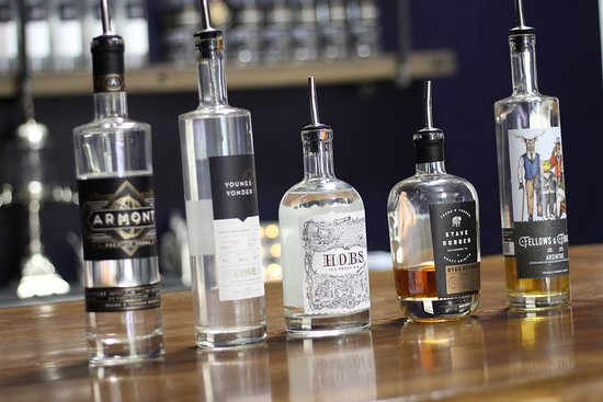 Young & Yonder Spirits: Our spirits lineup