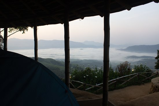 Morning view from Camp Camp Woody Suryanelli