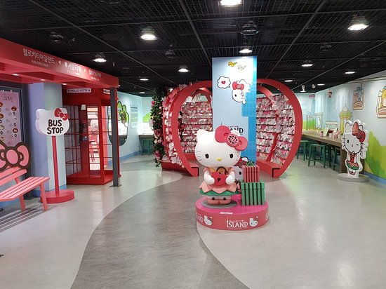 ‪Hello Kitty Island in N Seoul Tower‬