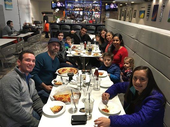 A big family dinner