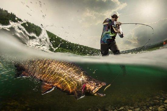 独家钓鱼日,特伦蒂诺的专业导游