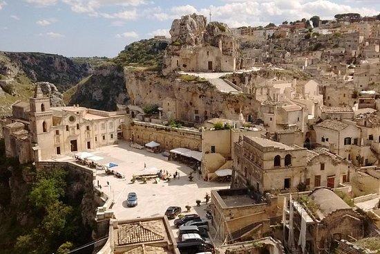 Plaatsen van Matera, de stad van de ...