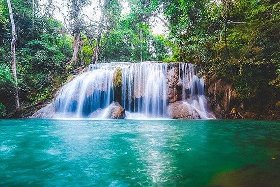 Visite privée: cascade Kanchanaburi...