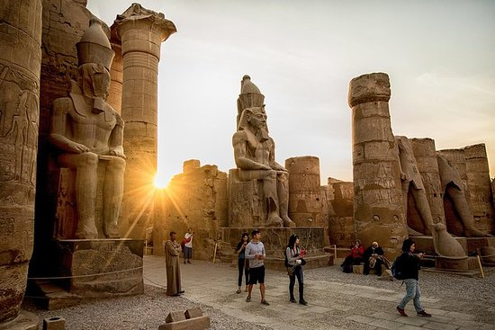 LUXOR FULL DAY TOURS FROM CAIRO BY PLANE INCLUDING LUNCH