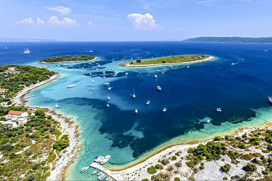 Blaue Lagune & Trogir - 3 Inseln...