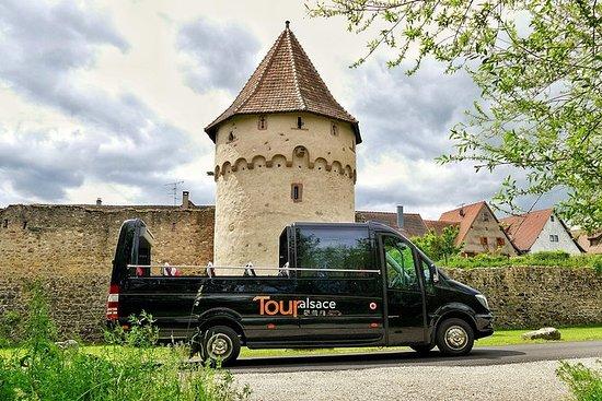 Desde Estrasburgo: la ruta del vino...
