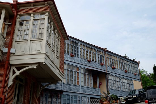 Old Town (Altstadt) Tbilisi: Lovely houses