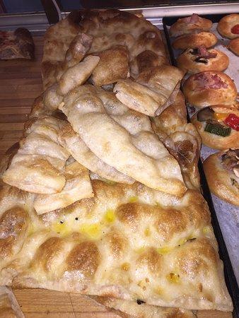 pizza bianca del nostro fornaio Carmelo e Pane Pizza