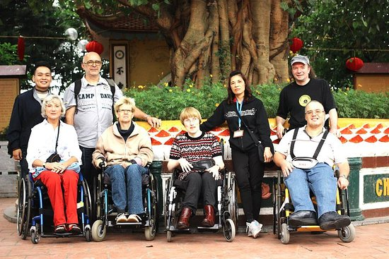 Wheelchair travel vietnam
