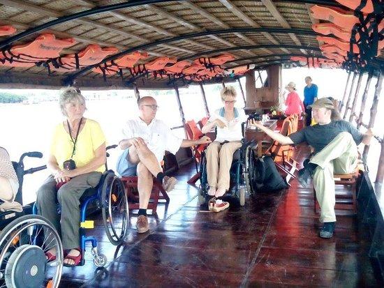 Wheelchair travel vietnam