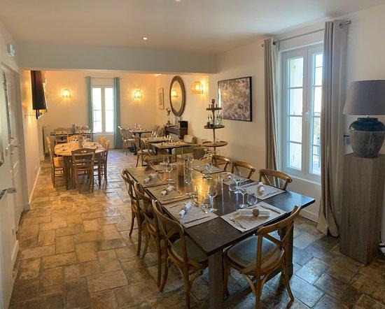 Hotel O'Banel: Restaurant et salle de petit déjeuner