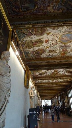 Gallerie Degli Uffizi: Firenze. Galleria degli Uffizi (Aprile 2019)