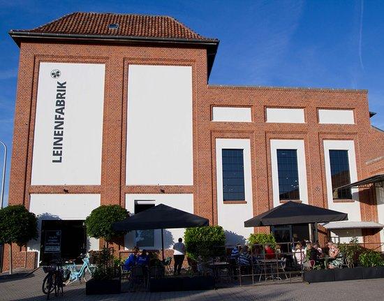 Wunstorf, Saksa: Die Leinenfabrik von außen