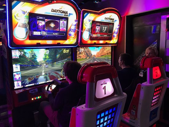 Arcade Club Leeds: New Daytona (we have the original also)