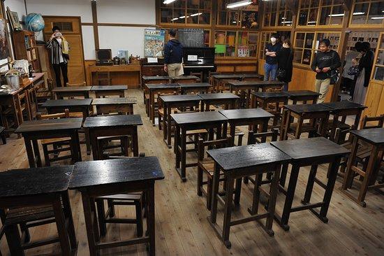 教室の復元も