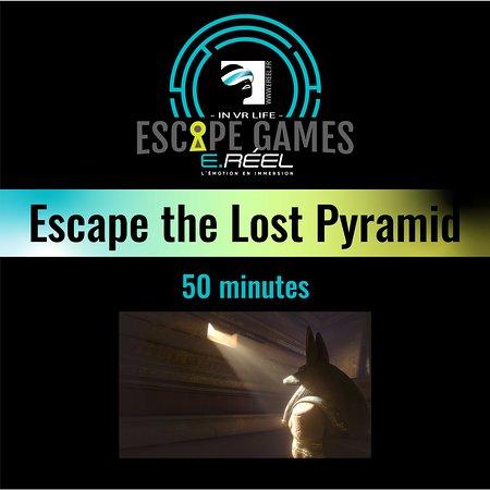 E.Reel Annecy: Prenez la place des explorateurs partis à la recherche de l'artefact dans la pyramide perdue de Nebka. Parviendrez vous à trouvez ce qu'ils cherchaient à l'époque. Ils n'en sont jamais revenus.....